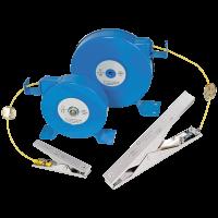 Erdungs-Kabelaufroller Typ BESM34/E / 15.2 m / 1 x 4.0 mm² / nach ATEX