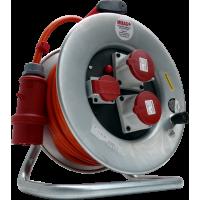 Kabelrolle 230/400V, 5-polig, 25 m / 5 x 2.5 mm
