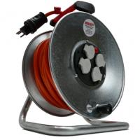 Kabelrolle 230V, 3-polig, 50 m / 3 x 2.5 mm