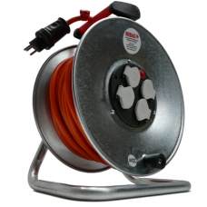 Kabelrolle 230V, 3-polig, 33 m / 3 x 1.5 mm