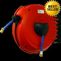 Schlauchaufroller COMPACT Air/15 / Abzug 15 m,  6 x 10 mm