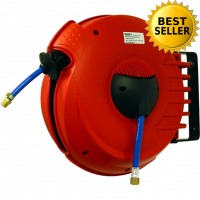 Enrouleur de tuyau COMPACT Air/15 / Longueur 15 m,  6 x 10 mm