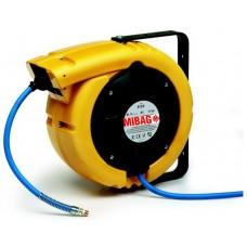 Schlauchaufroller MIB 813/8/S / Luft / 10 m / 12 bar / 8 mm
