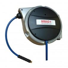 """Schlauchaufroller MIBAL 81/8, L= 9 + 1 m, 8 x 12 mm / 1/4"""""""