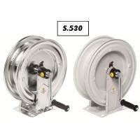 Schlauchhaspel Serie 530 pulverbeschichtet / rostfrei