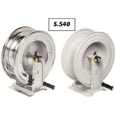Schlauchhaspel Serie 540 pulverbeschichtet / rostfrei
