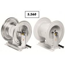 Schlauchhaspel Serie 560 pulverbeschichtet / rostfrei