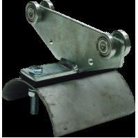 Flachkabelwagen Klemmbereich 100 mm